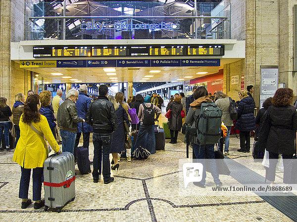 Italien  Mailand  Stazione Centrale  Hauptbahnhof