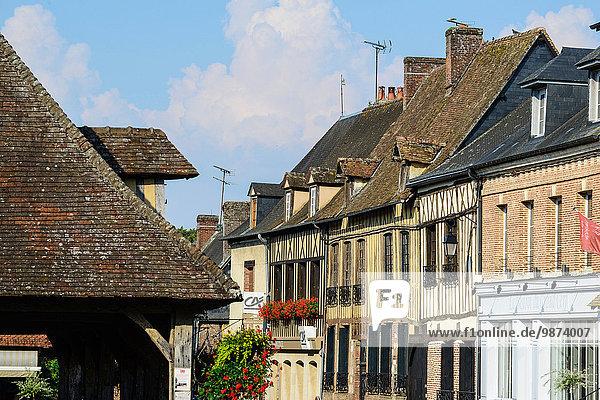 Feuerwehr Frankreich Schönheit Wohnhaus Straße Dorf 1 Hälfte