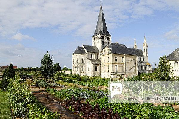 Küche Tal Fluss Garten Heiligtum Seine Abtei