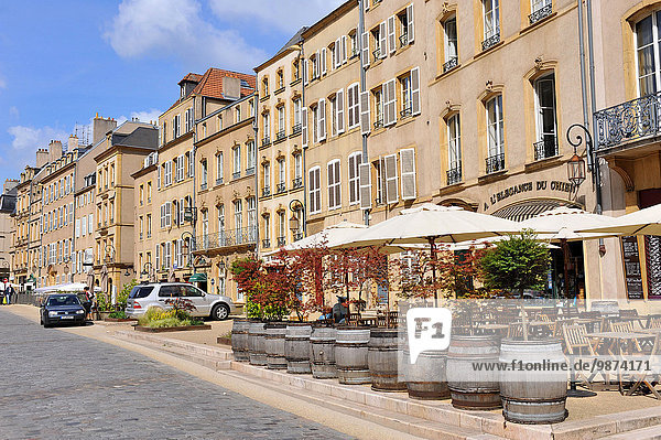 'Metz (north-eastern France): ''place de la chambre'' square'