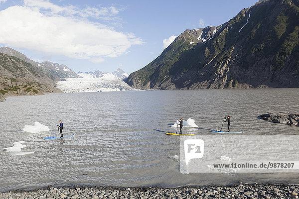 Hintergrund paddeln Bucht