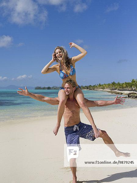 Strand Tourist Insel spielen