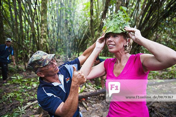anprobieren Nationalpark Hut Pflanzenblatt Pflanzenblätter Blatt Regenwald Reise