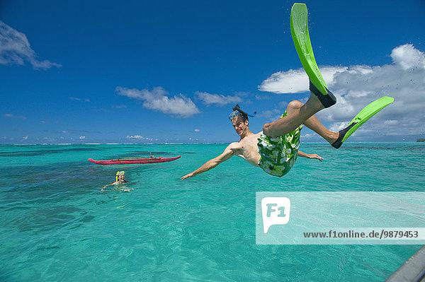Tropisch Tropen subtropisch Wasser Insel türkis spielen
