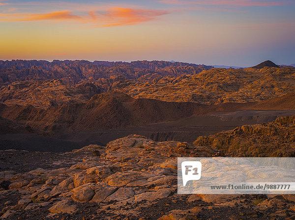 Sonnenuntergang Saudi-Arabien