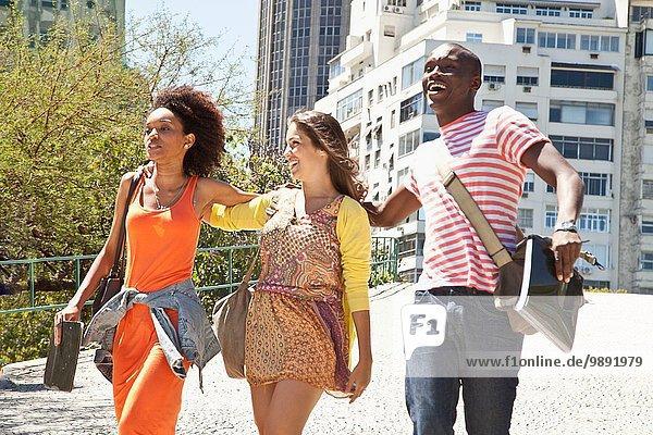 Studenten  Rio de Janeiro  Brasilien