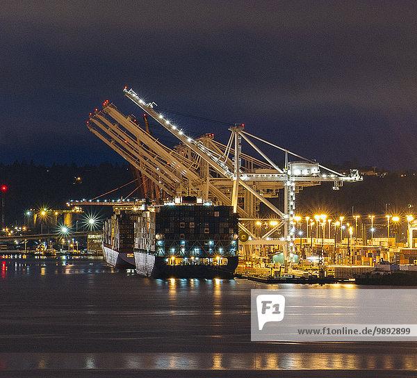 Port  Seattle  Washington  USA