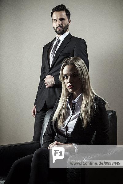 Portrait Freundschaft Business
