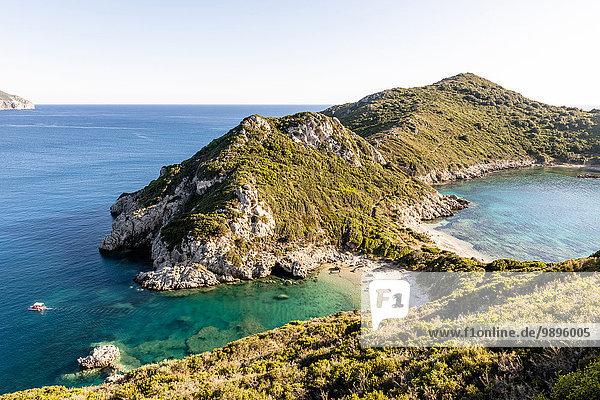 Griechenland  Korfu  Kap Arilla bei Afionas