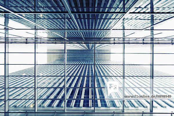 Niederlande  Rotterdam  Teil des Bürogebäudes De Rotterdam