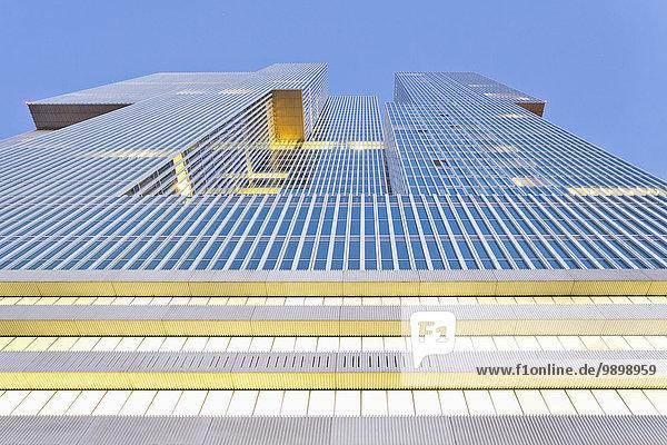 Niederlande  Rotterdam  Kop van Zuid  Fassade Bürogebäude De Rotterdam