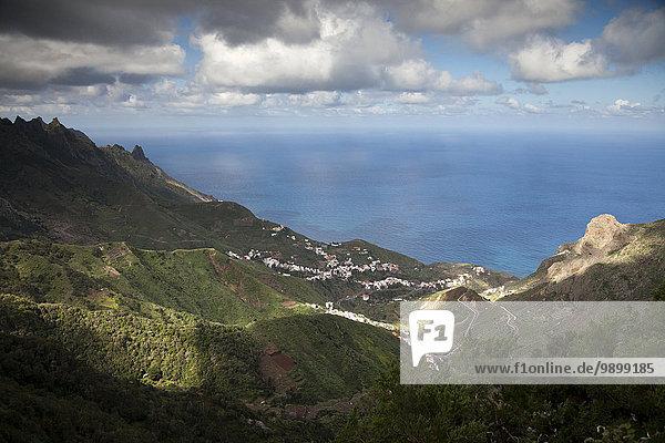 Spanien  Teneriffa  Kanarische Inseln  Anaga-Gebirge und die Küste