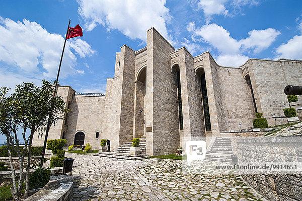 Skanderbeg-Museum  Kruja  Albanien  Europa