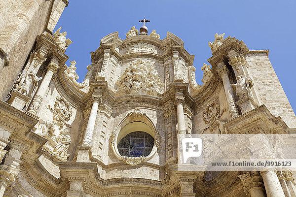 Catedral de Santa María de Valencia  Kathedrale von Valencia  Valencia  Spanien  Europa