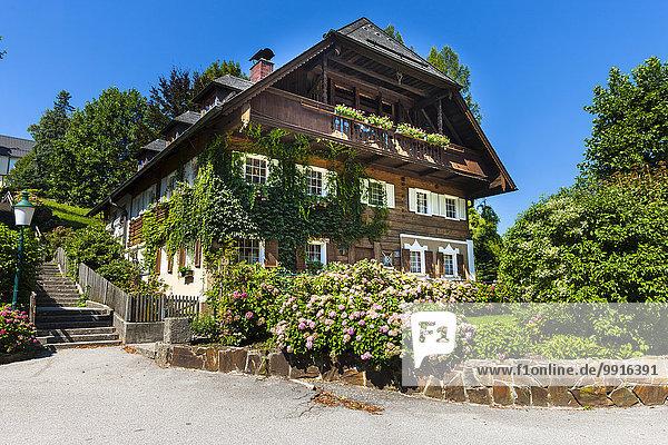 Bauernhaus  Bergheim  Flachgau  Salzburger Land  Österreich  Europa