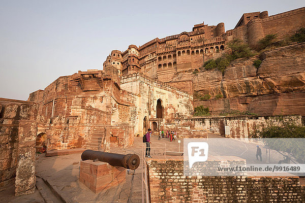 Fort Meherangarh  Jodhpur  Rajasthan  India  Asia