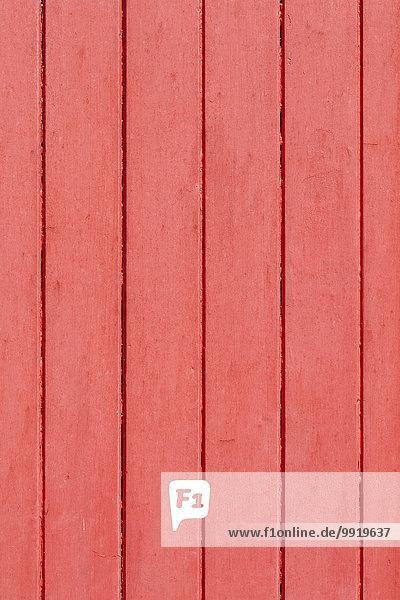 Holzwand Frankreich Close-up streichen streicht streichend anstreichen anstreichend rot Aquitanien