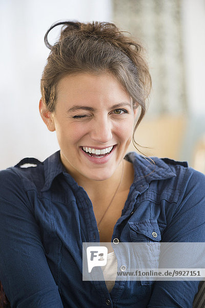 Portrait Frau Ärger