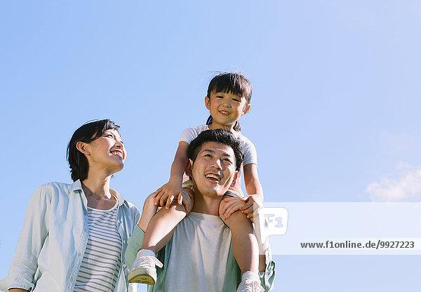 Fröhlichkeit lächeln japanisch