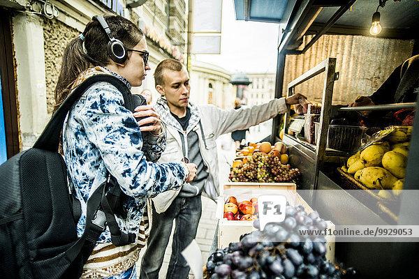 Europäer Frucht Produktion kaufen Kiosk