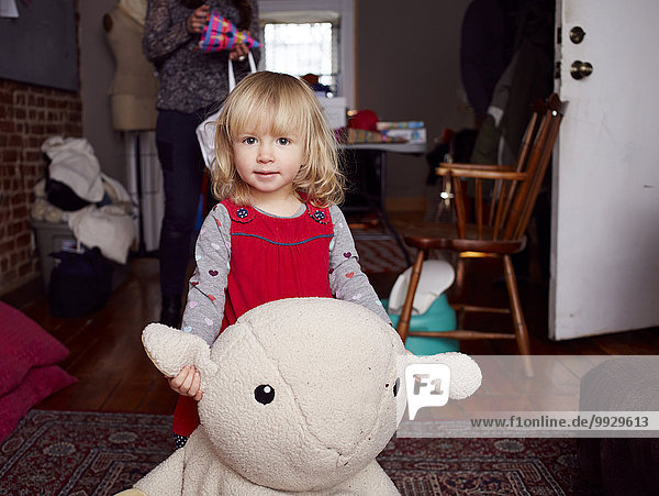 Zimmer Spielzeug Mädchen Reichtum Wohnzimmer spielen