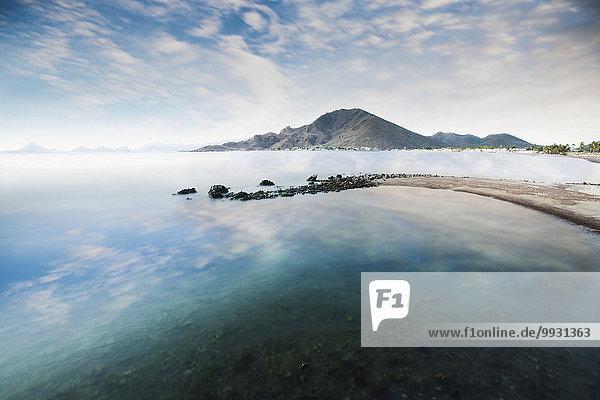 Wolke Himmel Spiegelung See blau Wolke,Himmel,Spiegelung,See,blau