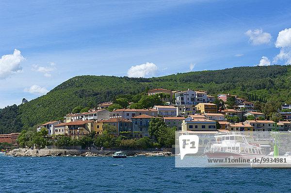 Außenaufnahme Europa Tag Küste niemand Stadt Großstadt Meer Adriatisches Meer Adria Kroatien Istrien Mittelmeer