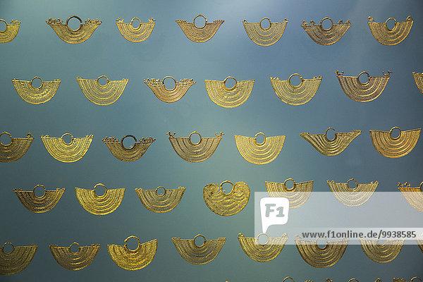 Museum Veranstaltung Gold lateinamerikanisch Kolumbien Südamerika