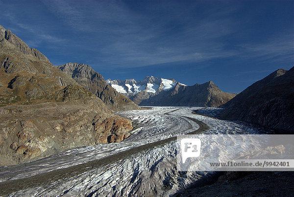 Europa Berg Wolke Landschaft Alpen Herbst Schweiz