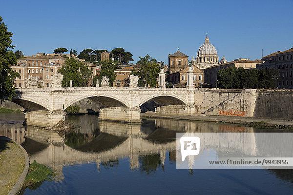 Ponte Vittorio Emanuele II  Rom  Latium  Italien  Europa
