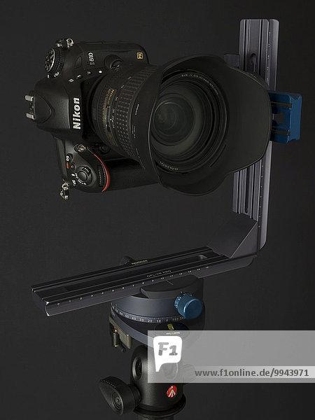 Novoflex VR System Pro 2  Nodalpunktadapter  Manfrotto Kugelkopf  Nikon D610 Kamera  Nikon 24-120 f 4 VR  für horizontale und vertikale Panoramen  Panoramakopf