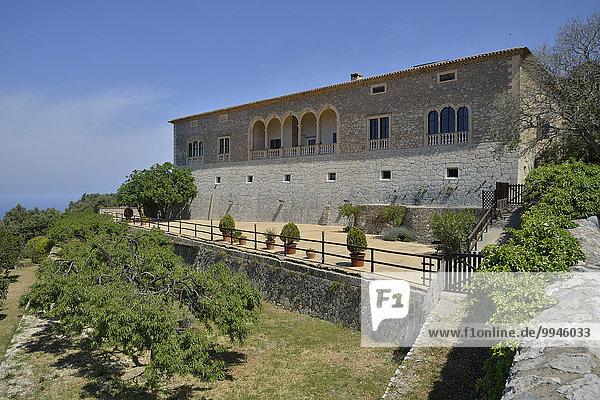 Landgut Son Marroig  ehemaliger Wohnsitz von Ludwig Salvator  bei Deià  Mallorca  Balearen  Spanien  Europa