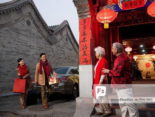 Wohnhaus Urlaub Ostasien