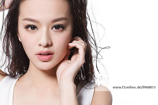 Eleganz Beauty Ostasien Close-up close-ups close up close ups