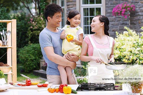 Lebensmittel Vorbereitung 3 Mutter - Mensch