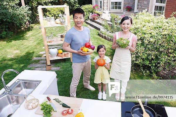 Küche Gemüse 3 Außenaufnahme