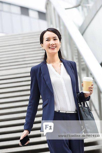 Frau arbeiten Fortschritt Ostasien Business