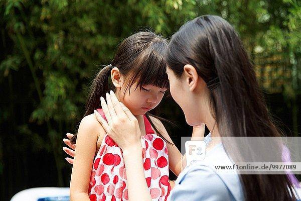 Mitleid Kindergarten Depression Lehrer Mädchen