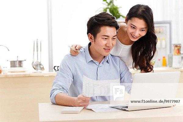 Interior zu Hause Internet kaufen jung