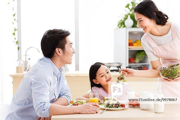 Interior zu Hause Frühstück