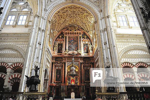 Mezquita-Catedral de Córdoba  Moschee-Kathedrale  Córdoba  Andalusien  Spanien  Europa