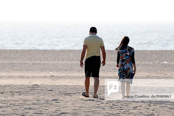 Deauville Beach  Couple.