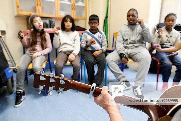 French NGO Musique et Sante (Music and Health)  Music therapy.