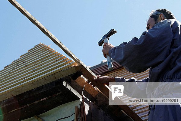 Dach arbeiten befestigen neu