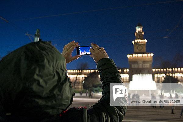Italien  Lombardei  Mailand  fotografieren