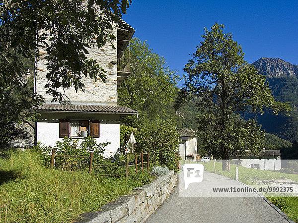 Landschaft Schweiz Kanton Tessin