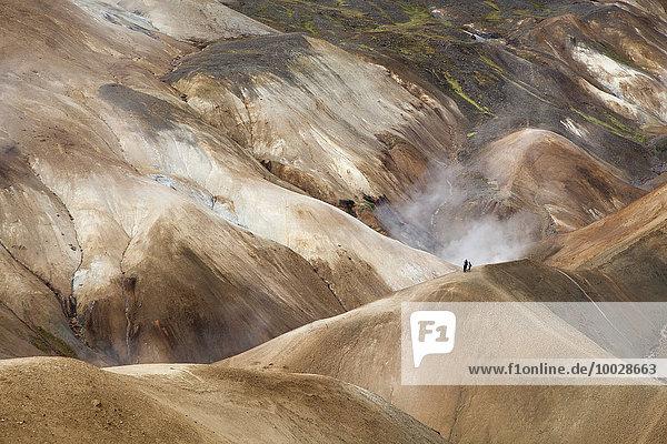 Geothermische Berge  Kerlingarfjoll  Island