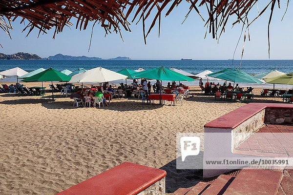 Manzanillo beach. Pacific Ocean. Colima. Mexico.