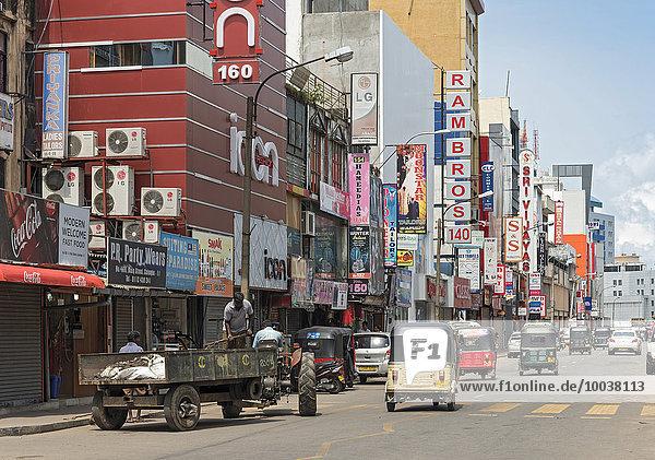 Hauptstraße  Pettah  Colombo  Sri Lanka  Asien