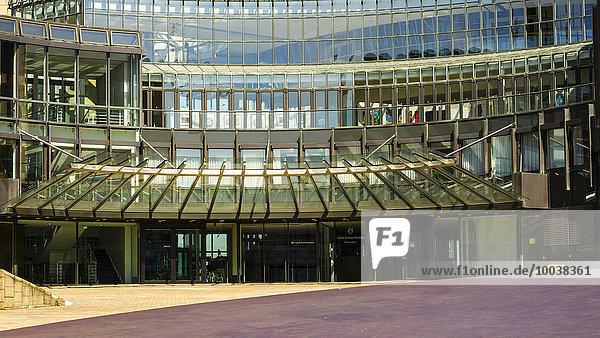 Landtag Nordrhein-Westfalen  Haus des Landtags  Regierungsviertel  Düsseldorf  Nordrhein-Westfalen  Deutschland  Europa